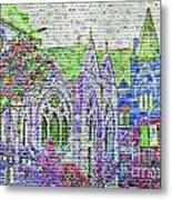Historic Churches St Louis Mo - Digital Effect 4 Metal Print