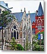 Historic Churches St. Louis Mo 1 Metal Print