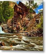 Historic Colorado Landscape Metal Print