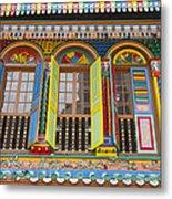 Historic Colorful Peranakan House Metal Print