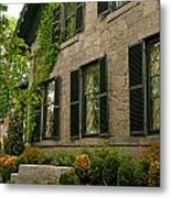Historic Concord Home Metal Print