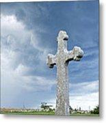 Historic Cross Metal Print