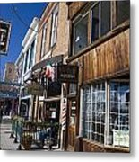 Historic Downtown Truckee California Metal Print