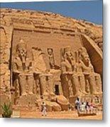 Historic Egypt Metal Print