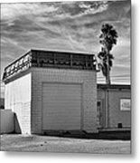 Historic Estrella Gas Station Desert Hot Springs Metal Print