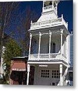 Historic Firehouse No. 1 Nevada City California Metal Print