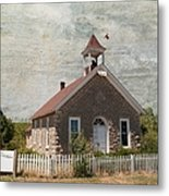 Historic Hinerville School  House  Metal Print