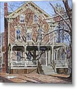 Historic Home Westifled New Jersey Metal Print