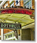 Historic Hotel Bothwell Metal Print