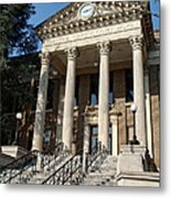 Historic Limestone County Courthouse In Athens Alabama Metal Print