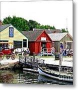 Historic Mystic Seaport Metal Print