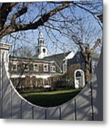 Historic Nantucket Church Metal Print