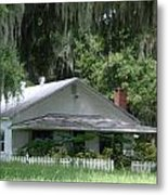 Historic Overstreet Homestead Kissimmee Florida Metal Print