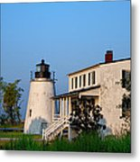 Historic Piney Point Lighthouse Metal Print