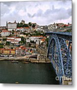 Historic Porto Metal Print