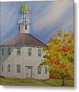 Historic Richmond Round Church Metal Print