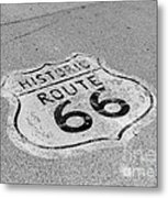 Historic Route 66 Metal Print