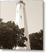Historic Sandy Hook Lighthouse Metal Print