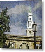 Historic Savannah Church Metal Print