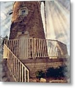 Historic Schonhoff Dutch Mill Metal Print