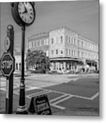 Historic Small Town In South Where Metal Print