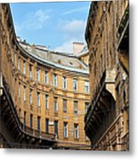 Historic Tenement Houses In Budapest Metal Print