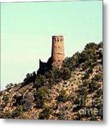 Historic Tower Of Grand Canyon Metal Print