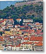 Historic Town Of Sibenik Panorama Metal Print