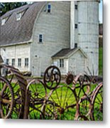 Historic Uniontown Washington Dairy Barn Metal Print
