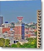 Historic Western Auto Building Kansas City  Missouri Metal Print