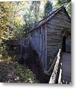Historical 1868 Cades Cove Cable Mill Metal Print