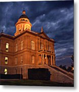 Historical Placer County Courthouse Metal Print