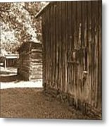 Historical Tobacco Barns Nc Usa Metal Print by Kim Galluzzo Wozniak