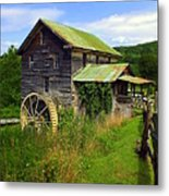 Historical Whites Mill Metal Print by Karen Wiles