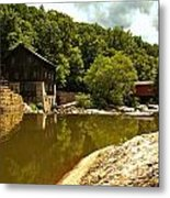 History Along Slippery Rock Creek Metal Print