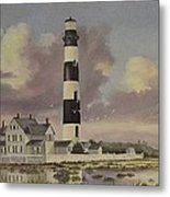 History Of Morris Lighthouse Metal Print