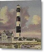 History Of Morris Lighthouse Metal Print