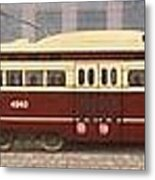 History Of The Toronto Streetcar Metal Print