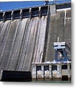 Hiwassee Dam 3 Metal Print