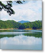 Hiwassee Lake Metal Print by Robert J Andler