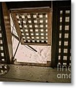 Hms Bounty Hatchway Below Deck Metal Print