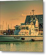 Hms Dasher P280 Metal Print