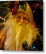 Ho Ho Ho Merry Christmas Metal Print by Al Bourassa