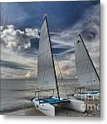 Hobie Cats On The Caribbean Metal Print