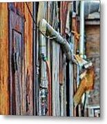 Hoboken After Sandy Metal Print