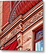 Hoboken Brownstone Art Metal Print