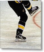 Hockey Dance Metal Print