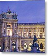 Hofburg Imperial Palace, Heldenplatz Metal Print