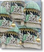 Hofburg Palace Dome Metal Print