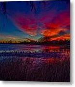 Hoffman Lake Metal Print